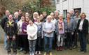 Gruppenfoto der Workshop-Teilnehmer mit Orga-Team und Godewind