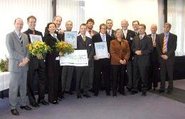 Gewinner, Veranstalter und Sponsoren des GründerCups in der KERN-Region 2006