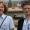 Frau Stadträtin Treutel mit Corina bei der Eröffnung
