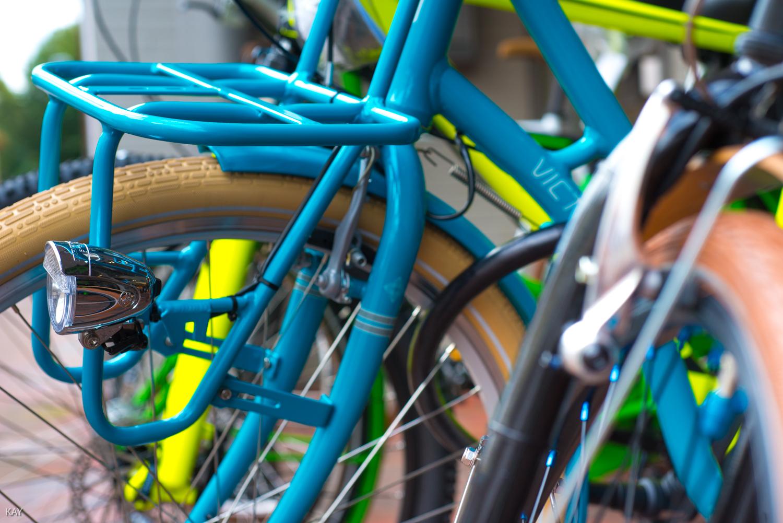 Fahrrad Gepäckträger vorn